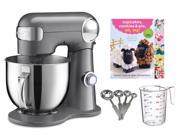 Cuisinart 5.5-quart Mixer + Measuring Spoon Set + Cupcake Book + Measuring Cup 9SIA1JX58W0884