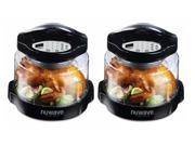 NuWave Pro Plus Oven (Black, 2-pack) 9SIV16865V5805