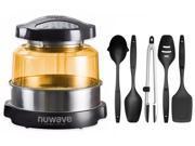 Nuwave Elite Oven w/ Extender Ring and 5 Piece Nylon Cooking Utensil Set 9SIV16865V7233
