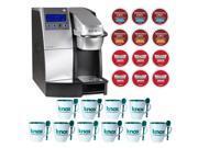 Keurig K3000 SE Commercial Brewer Single Cup Office Brewing System Bundle