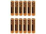 Battery for Panasonic NiMH AAA (12-Pack)