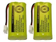 Replacement Battery for VTech Cordless Home Phones 8300 / BATT-6010 / BT18433 / BT184342 / BT28433 / BT284342 / 89-1326-00-00 / CPH-515D ( 2 Pack )