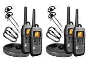 Uniden GMR5089-2CKHS 22 Channels 50-Mile Range Two-Way Radios 4 Pack New