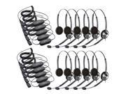 Jabra BIZ 1900 Duo Headset W/ GN1200 Cable (10-Pack)
