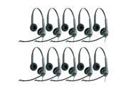 Jabra GN2025 Duo NC Headset W/ PeakStop Technology (10-Pack)