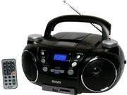 JENSEN JENCD750B Jensen CD750 Portable AM/FM Stereo CD Player with MP3 Encoder/Player