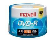 maxell MXLDVDR50SM 50pk Dvd-R 16x 4.7gb