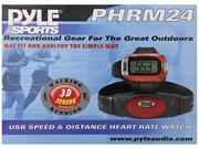 Pyle Audio PYLPHRM24M Pyle Speed and Distance Heart Rate Watch with Jumbo Digits