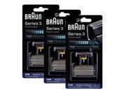 Braun 6000FC/31B (3-Pack) Replacement Foil and Cutter 3-Pack