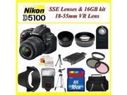 Nikon D5100 Digital SLR Camera with 18-55mm VR Zoom Lens