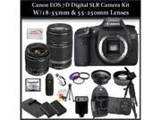 Canon EOS 7D Digital SLR Camera w/ 2 Lens Kit
