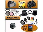 Nikon D3100 SLR Digital Camera with Nikon 18-55m Bundle!