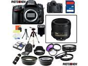 Nikon D600 24.3MP FX-Format DSLR Camera (Body Only) With Nikon AF-S Nikkor 50mm f/1.8G Lens & Deluxe Lens Accessory Package including 64GB SDHC Card & More