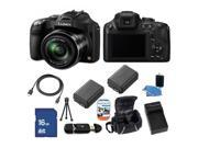 Panasonic LUMIX DMC-FZ70K Black 16.1 MP 60X Optical Zoom Digital Camera - FZ70 Kit 3