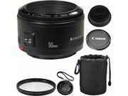 Canon EF 50mm f/1.8 II Autofocus Camera Lens for Canon EOS 7D, 60D, EOS Rebel...Photo4now kit