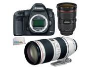 Canon EOS 5D Mark III + 24-70mm F2.8 II + 70-200mm F2.8 IS II ELITE LENS BUNDLE