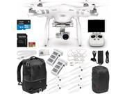 DJI Phantom 3 Advanced Quadcopter Drone with 1080p HD Video Camera & Manufacturer Accessories + Extra DJI Battery + SanDisk Extreme 32GB microSDHC Memory Card + Manfrotto Advanced Tri Backpack + MORE