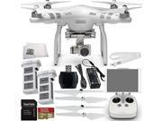 DJI Phantom 3 Advanced Quadcopter Drone with 1080p HD Video Camera EVERYTHING YOU NEED Kit. Includes SanDisk Extreme 32GB UHS-I/U3 Micro SDHC Memory Card (SDSDQ