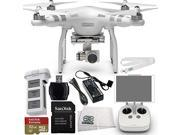 DJI Phantom 3 Advanced Quadcopter Drone with 1080p HD Video Camera Starter Kit. Includes SanDisk Extreme 32GB microSDHC Memory Card (SDSDQXN-032G-G46A) + High S