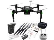 DJI Matrice 100 Quadcopter 15PC Accessory Kit. Includes Manufacturer Accessories + SSE FURY SPEAKER + SSE Transmitter Lanyard + Microfiber Cleaning Cloth