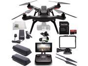 3DR Solo Quadcopter with 3-Axis Gimbal for GoPro HERO3+ / HERO4 with Manufacturer Accessories + Extra 3DR Flight Battery + 3DR Propeller Set + SanDisk 32GB Extr