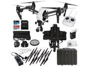 DJI Inspire 1 V2.0 Quadcopter With Single Remote Backpack Strap Starters Bundle
