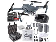 DJI Mavic Pro Collapsible Quadcopter Premium Essential Bundle