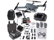 DJI Mavic Pro FLY MORE COMBO Collapsible Quadcopter Premium Starters Bundle