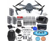 DJI Mavic Pro FLY MORE COMBO Collapsible Quadcopter Drone EVERYTHING YOU NEED Bundle