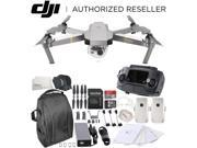 DJI Mavic Pro Platinum Collapsible Quadcopter Essential Backpack Bundle