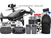 DJI Mavic Air Drone Quadcopter (Onyx Black) 2-Battery 2x 64 GB Memory Ultimate Bundle