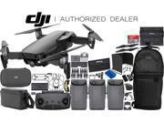 DJI Mavic Air Drone Quadcopter (Onyx Black) 3-Battery Fly More Combo Ultimate Bundle