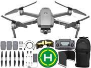 DJI Mavic 2 Zoom Drone Quadcopter with 24-48mm Optical Zoom Camera with Sling Backpack, Range Extender, Landing Pad, and Sunshade Ultimate Bundle