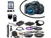 Canon EOS Rebel T3i Digital SLR Camera With 18-55mm Lens & Ultimate Accessory Bundle