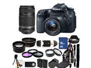 Canon EOS 70D DSLR Camera with 18-55mm STM & 55-250mm Lenses - Kit 3