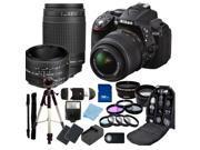 Nikon D5300 Digital SLR Camera With 18-55mm Lens & 70-300mm G Lens & 50mm 1.8D Kit 2