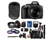 Nikon D5300 Digital SLR Camera With 18-140mm Lens & 55-200mm VR Kit