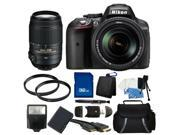 Nikon D5300 Digital SLR Camera With 18-140mm Lens & 55-300mm VR Lens Kit 2