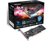 ASUS 5.1 Channels 96KHz 24-Bit PCI Interface Sound Card Model XONAR DG