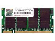 Transcend 1GB 200-Pin DDR SO-DIMM DDR 333 (PC 2700) Laptop Memory Model TS128MSD64V3A