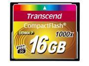 Transcend 16GB Ultimate  Compact Flash (CF) Flash Card Model TS16GCF1000
