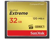 SanDisk 32GB Compact Flash (CF) Flash Card Model SDCFXS-032G-A46