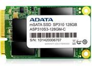 ADATA 128GB Premier Pro SP310 mSATA SATA 6Gb/s MLC Internal Solid State Drive SSD Model ASP310S3-128GM-C