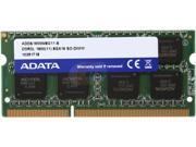 ADATA 8GB DDR3 PC3L-12800 1600MHz 204-Pin Laptop Memory Model ADDS1600W8G11-S