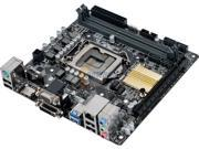 ASUS LGA 1151 Intel H110 HDMI SATA 6Gb/s USB 3.0 Mini ITX Intel Desktop Motherboard Model H110I-PLUS/CSM