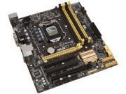 ASUS LGA 1150 Intel H87 HDMI SATA 6Gb/s USB 3.0 uATX Intel Desktop Motherboard H87M-E