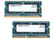 Mushkin Enhanced 16GB (2 x 8G) Essentials DDR3 PC3L-14900 1866MHz 204-Pin Laptop Memory Model 997218