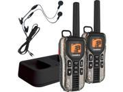 Uniden 40 Mile Two Way Radios With Charger And Headsets Model GMR40882CKHS