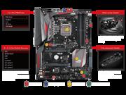 ASUS ROG MAXIMUS VIII HERO ALPHA (90MB0P50-M0EAY0) ATX Intel Motherboard