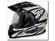 AFX FX-39 Graphics Motorcycle Helmet Pearl White Multi Medium 9SIAAHB4WD7779